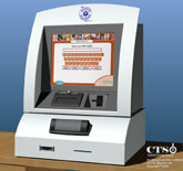 CTS Counter-Top Kiosk